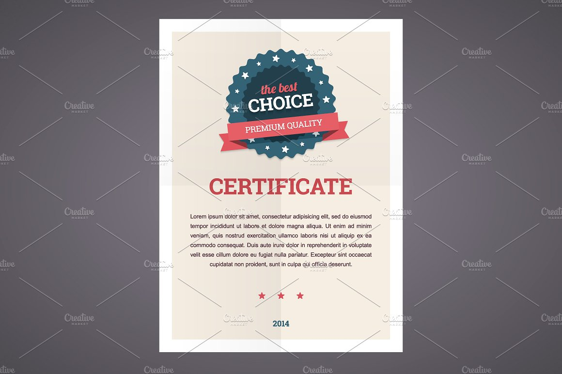 Best Choice Certificate Template  Best Certificate Templates