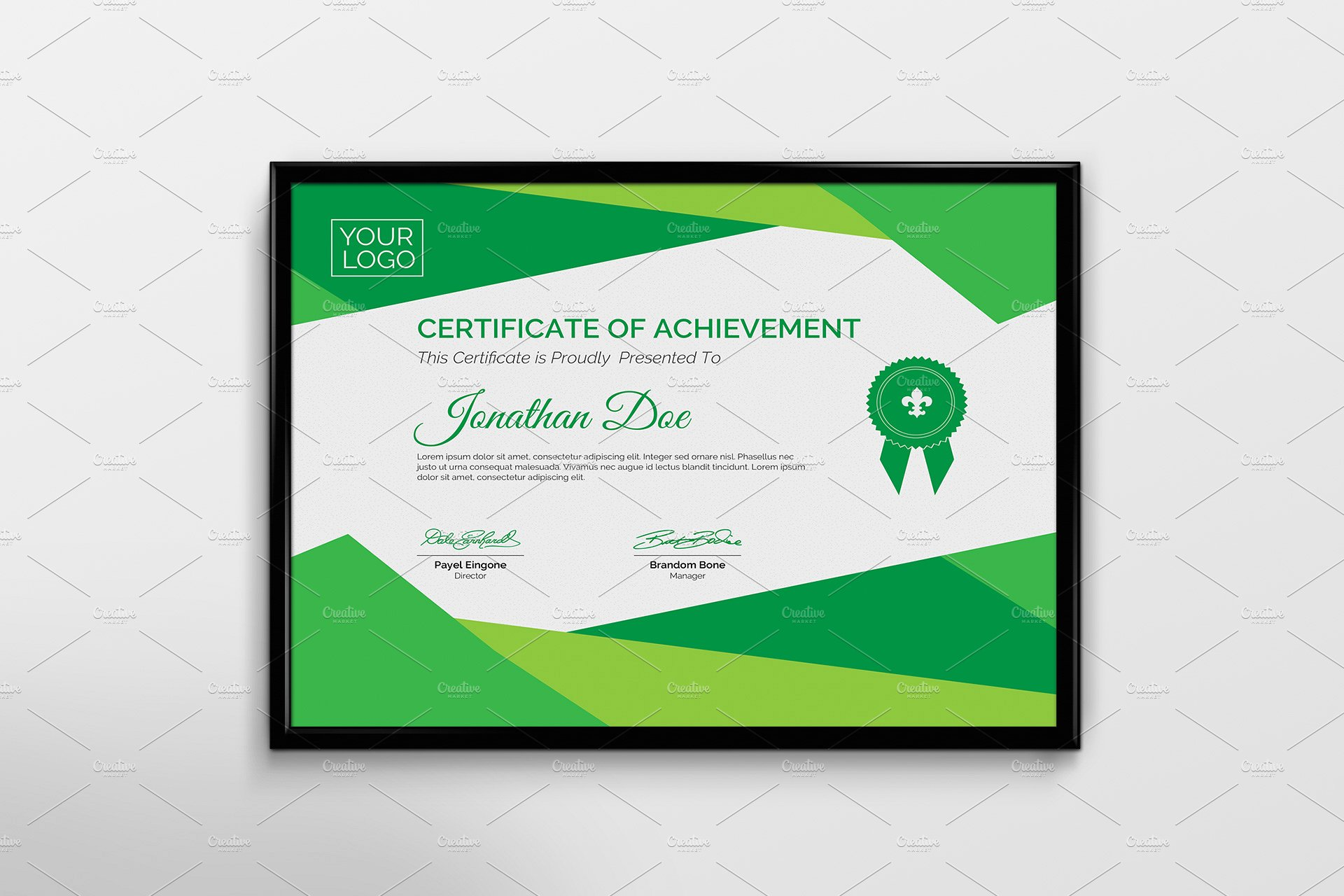 5 certificate templates for awards templatesp certificate template yelopaper Images