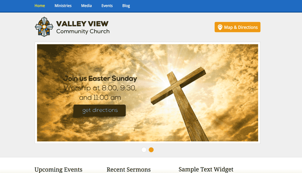 Top Free Church Website Tempaltes HTML CSS Templatesvip - Church website templates