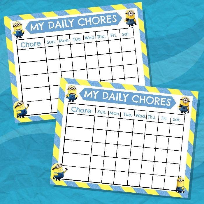 3 Top Chore Chart Templates Templatesvip – Kids Chore Chart Template