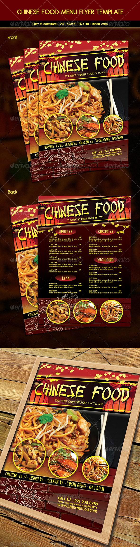Best Menu Templates for Restaurant Templatesvip – Food Menu Template